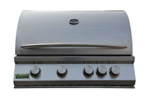 NEW 32 BBQ GRILL OUTDOOR COOKOUT 304 STAINLESS STEEL 4 BURNER GAS KITCHEN ISLAND