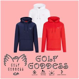 Golf Goddess Wings Women's  Golf Hoodie - Golf Top - Golf Jumper