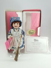 Treasury Collection Paradise Galleries Saturday's Child Solid Porcelain Doll EUC