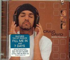 Craig David - Born to Do It - CD - NEW -14 Song Album