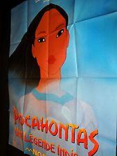 POCAHONTAS une legende indienne    affiche cinema animation disney