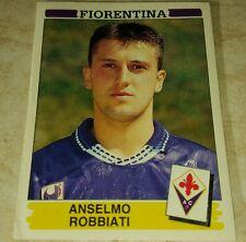 FIGURINA CALCIATORI PANINI 1994/95 FIORENTINA ROBBIATI ALBUM 1995