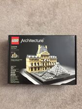 Lego Architecture 21024 Louvre set -NEW Factory Sealed- Retired - FREE Shipping