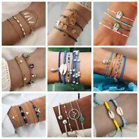 Fashion Women Boho Cuff Beach Foot Anklet Bracelet Bangle Chain Charm Jewelry