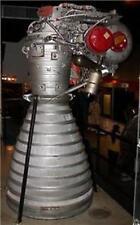 H-1 Rocketdyne H1 Rocket Engine Mahogany Kiln Dry Wood Model Small New