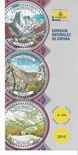 España Espacios Naturales Picos Europa Monfrague Sierra Nevada año 2010 (EE-178)