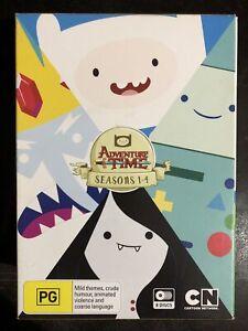 Adventure Time Season 1 2 3 4 DVD 2014 8-Disc Box Set Region 4