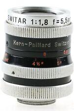Kern-Paillard Switar 1:1,8 5,5mm AR 5,5 mm 1.8 Kern Paillard D-Mount