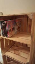 3 X Apple caisses avec tablette-idéal rangement/bibliothèque/DVD/Solution de stockage