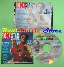 CD ROCKSTAR MUSIC 18 compilation PROMO 92 BOBBY WOMACK (C16*) no mc lp dvd vhs