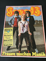 Sounds 5/80 Hans-a-Plast CURE Black Sabbath ZAPPA Santana JOEL C. Rea WHO Clash