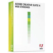 Brand New Adobe Creative Suite 4 Web Standard Upgrade [Mac] (Spanish)