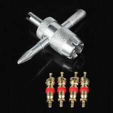 4 pcs Kerne 4 Weg Ventil Reparatur Core Schlüssel Werkzeug für Auto A9X8 We N6P0