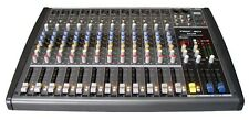 Professional DJ PA 12 Channel Mixer MP3 USB/SD Player 48V,GAIN,AUX,EFF,PAN BX12B