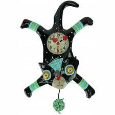Craft Attack Cat Clock With Swinging Pendulum