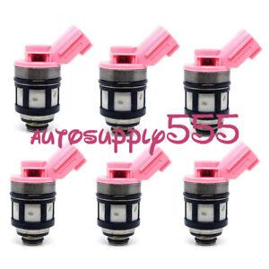 6PCSFuel Injector 166001800 For Infiniti QX4 Nissan Pathfinder Quest Xterra 3.3L