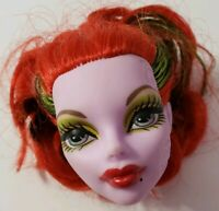 MONSTER HIGH DOLL ROLLER MAZE OPERETTA PURPLE HEAD ONLY FOR REPLACEMENT OR OOAK