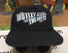 Motley Crue Vs The Earth Vintage SnapBack Hat cap Tour 1997 Mötley Crüe Rock