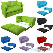 Cotton Blend Up to 2 Seats Solid Pattern Sofa Beds