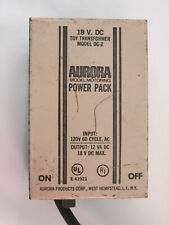 AURORA AFX 18 VOLT TAN POWER PACK MODEL DC-2 ~ TESTED @16.9 VOLTS