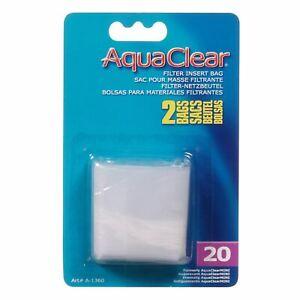 Aquaclear 20 Nylon Media Bag 2 Pack