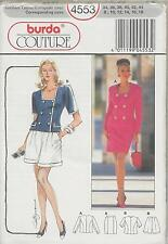 out-of-print:  Burda Couture 4553, 2  Zweiteiler, Gr. 34 - 44,  sizes 8 up to 18