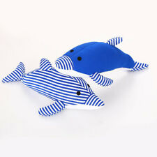 Funny Soft Pet Puppy Chew Play Squeaker Dolphin Cute Plush Sound For Dogs Toy S