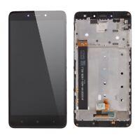 PANTALLA COMPLETA LCD + TACTIL + MARCO XIAOMI REDMI NOTE 4X (MTK VERSION) NEGRO
