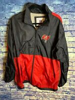 NFL On Field Apparel Tampa Bay Buccaneers Sideline Full Zip Jacket SZ L 🔥rare🏈