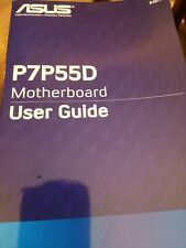 Asus P7P55D Pro Motherboard User Guide