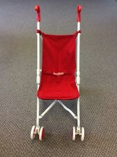 American Girl Pleasant Co. Bitty Baby's Red Retired Umbrella Stroller~Excellent