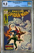 Amazing Spider-Man #74 (1969) CGC 9.2 -- Last 12-cent issue; Stan Lee - Romita