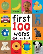 First 100 Words (Soft to Touch Board Books) (F by Roger Priddy New Hardback Book