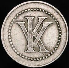 More details for spain kv 1 peseta casino token | tokens | km coins
