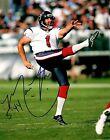 Matt Turk Houston Texans Punter Hand Signed Autographed 8x10 Photo W/COA