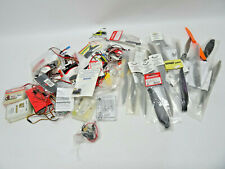 REMOTE CONTROL AIRPLANE GRAB BAG OF PARTS - PROPS, CABLES, MISC PARTS