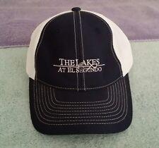 The Lakes at El Segundo CA Trucker Baseball Hat Golf Course California Blue