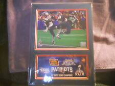 SUPERBOWL 46  MALCOLM BUTLER  PHOTO AND 1ST DAY COVER   2/01/2015
