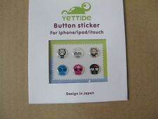 Devil Skull Home Button Protector Epoxy Sticker For Apple iPod iPhone 4S 5S iPad