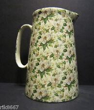 Heron Cross Pottery MAGNOLIA 4 Pint English Milk Jug very big (vase)
