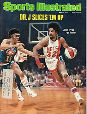 1976 5/17 Sports IIlustrated,Basketball,magazine,Julius Erving, New York Nets~Fr