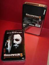 NEW Pristine Condition Collector Tin Halloween 5 DVD Box Lid Edition Anchor Bay