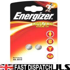 2 x LR44 ENERGIZER Alkaline Batteries 357 AG13 A76 SR
