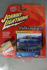 Johnny Lightning 1:64 Scale VOLKSWAGEN CONCEPT MICROBUS (BLUE)
