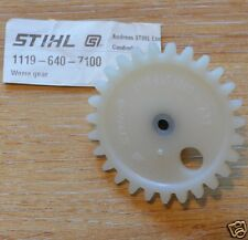 Genuine Stihl 028 038 042 048 MS380 MS381 Oil Worm Gear 1117 640 1700 Tracked