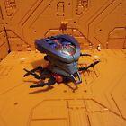 Beast Machines Transformers Deluxe RID Megabolt Megatron Near Complete
