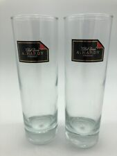 Red Corner A. Hardy Cognac Bar Glass Bubble Drop Base Barware