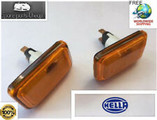 Pair of HELLA German OEM Side Répéteur Indicator fluocompactes VW mk1 Cabriolet mk2 Golf