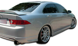 04-08 Acura TSX J-Spec Duraflex Side Skirts Body Kit!!! 105224
