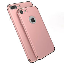 For iPhone 6 6S 7/ Plus Luxury Slim Electroplate Shockproof  Back Case Cover